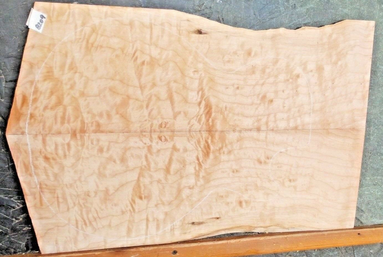 Gesteppt Ahorn Instrument Holz 8209 Gitarrenbauer Gitarre Oberteil Set 23 x 14.5