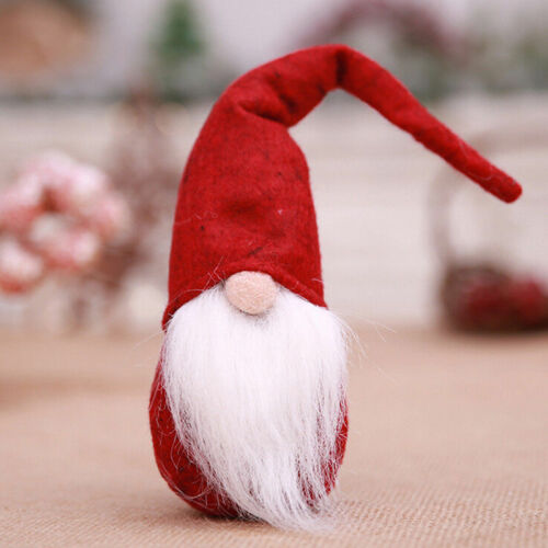 Santa claus christmas pendant doll ornament door gift tree decoration toys Hot/&