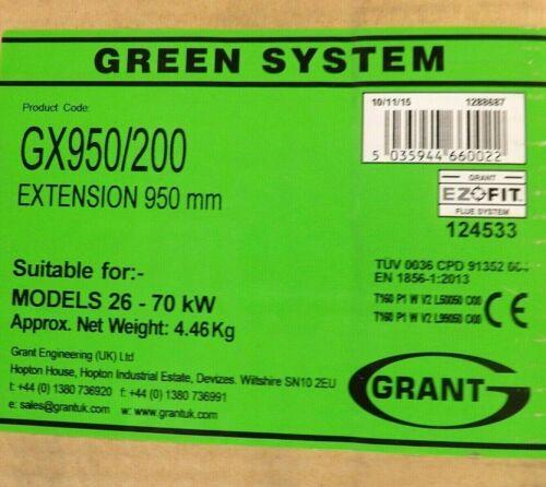 Grant Green System GX950//200 Estensione 950MM per modelli 26-70kW CORRIERE GRATIS