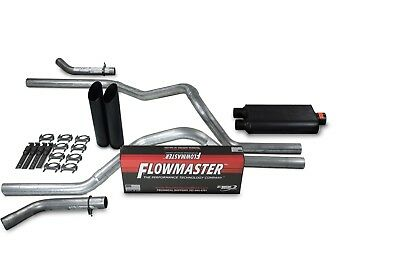 "1988-1995 Chevy Silverado Truck 3/"" Single Exhaust Kit Flowmaster 50 Delta Flow"