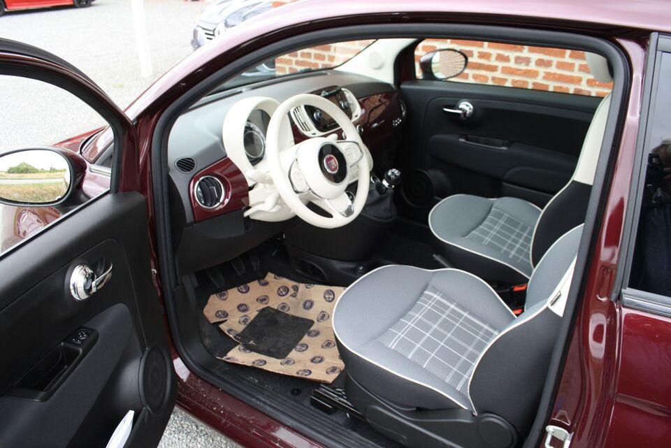 Fiat 500 0,9 TwinAir 80 Summer Edition Benzin modelår 2018