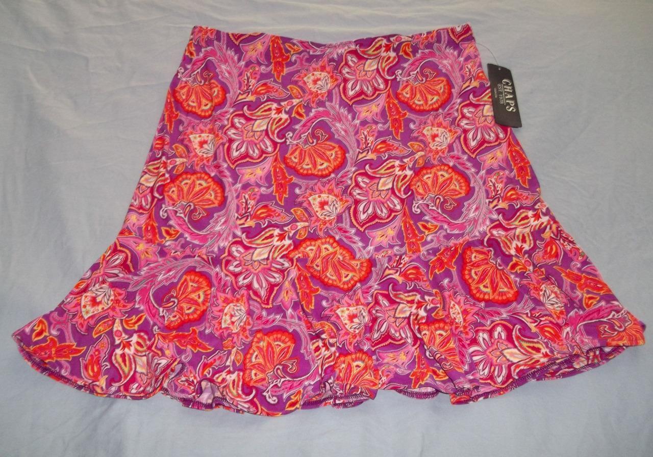 New Chaps Women's skirt size L