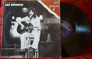 Cat Stevens Steve Adams Georgou Idolos 4 Very Rare