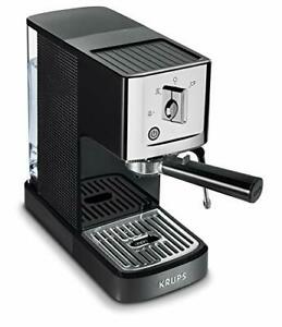 Details about Krups XP344C51 Calvi Steam and Pump Compact Espresso Machine Black
