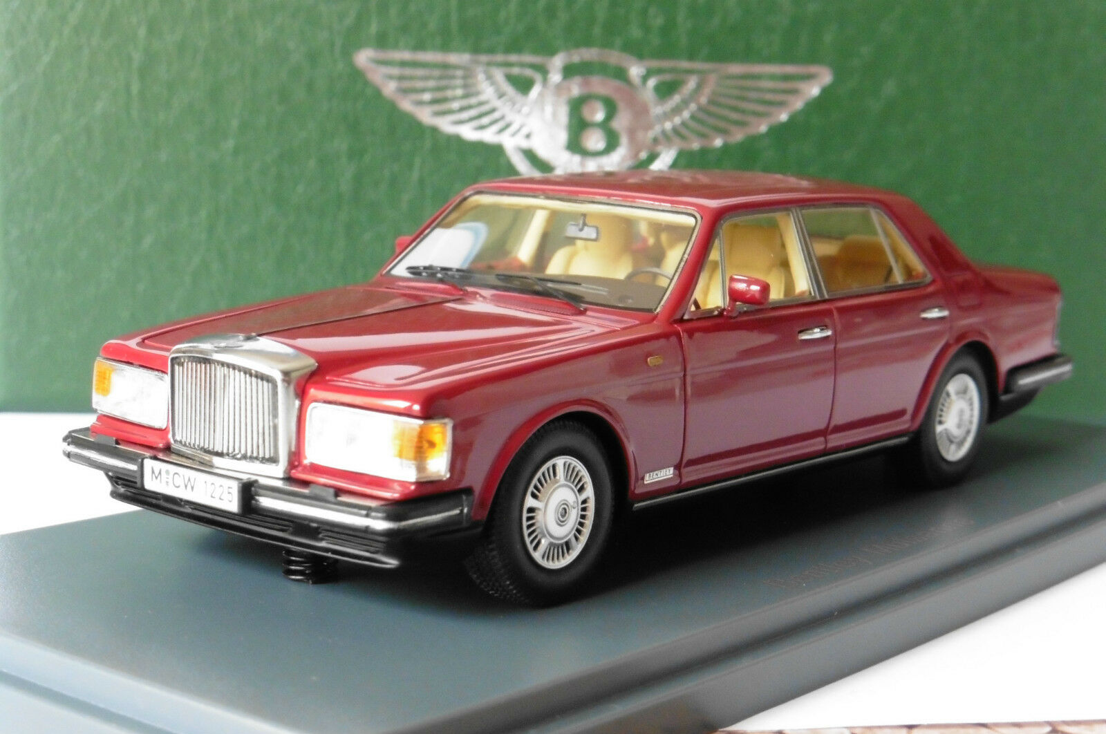 BENTLEY MULSANNE TURBO DARK RED 1982 NEO 44173 44173 44173 1 43 DUNKEL red red FONCE LHD 2e8630