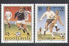 Yugoslavia 1990 Football/Sports/Games/World Cup/WC/Soccer 2v set (n37758)