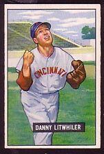 1951 Bowman Danny Litwhiler #179 Baseball Card