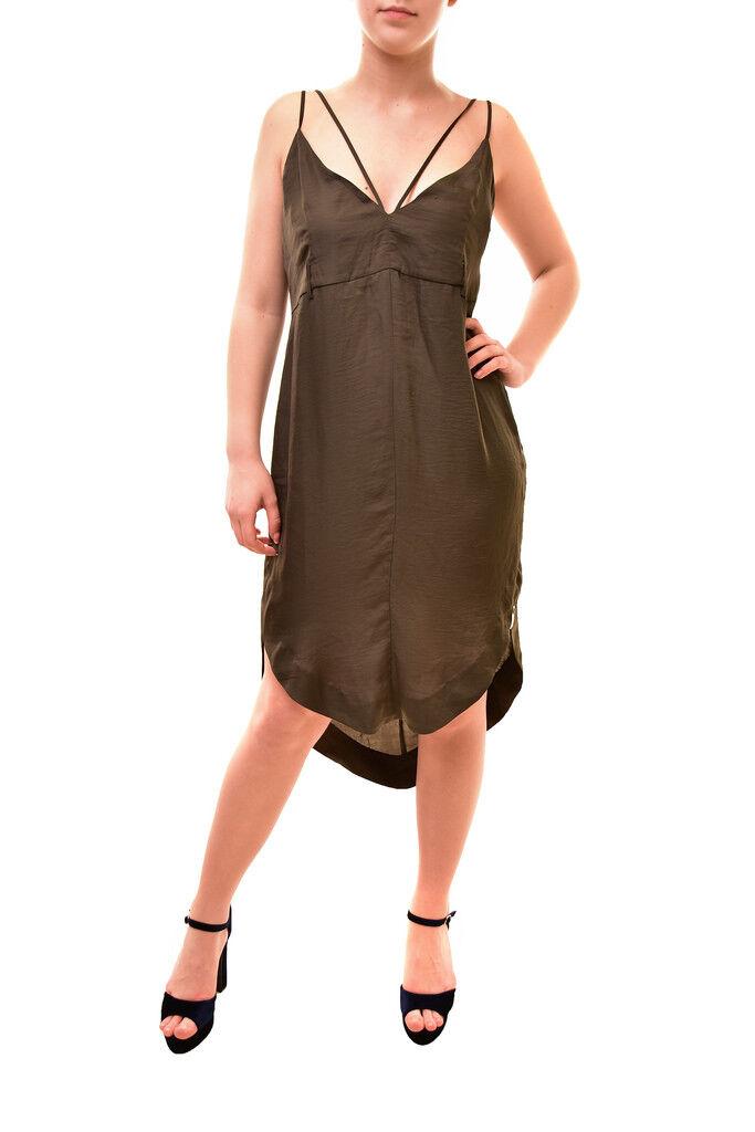 One Teaspoon Damen Elegantes Kleid Schwarz Größe S    98 BCF84