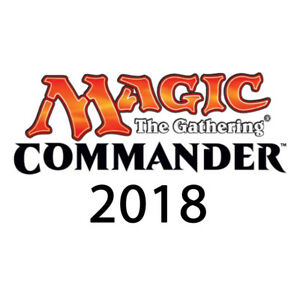 Comandante-2018-ponti-OVP-SEALED-MTG-Magic-the-Gathering-en
