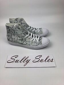 Converse-CTAS-II-Chuck-Taylor-Hi-Mens-Size-10-5-Shoes-Pure-Silver-154889C
