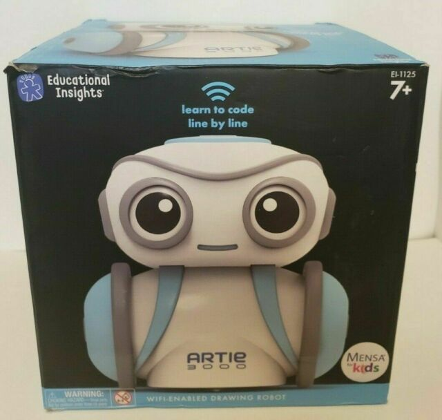 Educational Insights Artie 3000 The Coding Robot Stem Toy ...