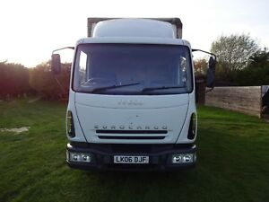 Iveco Box Van 2006 75E18 1 Owner From New Sleeper Cab Electronic Tail Lift - Hinxworth, United Kingdom - Iveco Box Van 2006 75E18 1 Owner From New Sleeper Cab Electronic Tail Lift - Hinxworth, United Kingdom