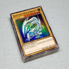 Yugioh Seto Kaiba Deck Blue-Eyes White Dragon Obelisk the Tormentor + Deck Box