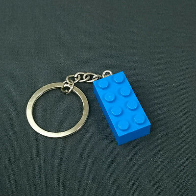 custom made Choose your color NEW LEGO 3003 Brick 2x2 Keyring//Keychain
