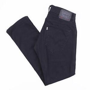 Moderne-Levi-039-s-511-Skinny-Fit-Blanc-Tab-Homme-Noir-Jeans-W31-L30