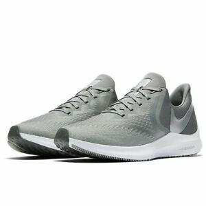 Casquette Hommes Nike Zoom Winflo 6 Chaussures De Course Baskets AQ7497 002 RRP: £ 89.99
