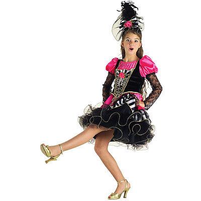 Razionale Vestito Costume Carnevale Ballerina Can Can 5 6 7 8 9 10 11 Anni Gamma Completa Di Articoli