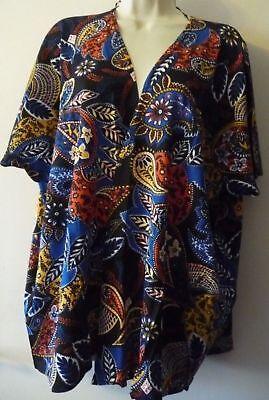 Frugale Dimensioni: Uk 10 Bnwt Blu Orientale Kimono Da Tg Nuovo Di Zecca Rrp £ 14.99 Vacanze Estive-mostra Il Titolo Originale 2019 Ultima Vendita Online Stile 50%