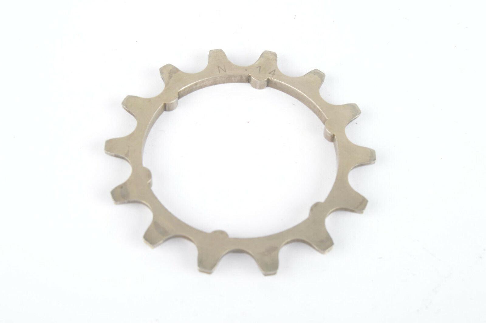 Campagnolo Super Record  N-14 steel Freewheel Cog with 14 teeth