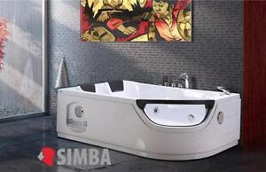 Vasca Da Bagno Angolare 120 120 : Whirlpool bath tub spa corner bath double pillow cm
