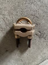 Homac 2755 E 50 Bronze Ground Clamp Cable Size 300 500 To Pipe Rod 78 1