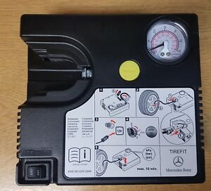 GENUINE-MERCEDES-TYRE-PUNCTURE-REPAIR-PUMP-MOBILITY-COMPRESSOR-INFLATOR-X-100