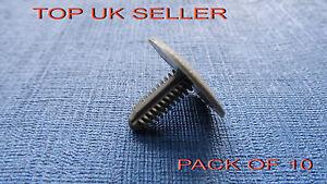 10 pcs bmw black trim panel sapin//spruce bouton clips