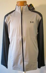 74b330f247 Details about NWT Under Armour Mens UA Storm Rain Jacket XL Grey MSRP$150