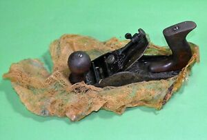 Shelton-No-4-Wood-Plane-Woodworking-Pat-1914609-In-WWII-Cosmaline-Packing