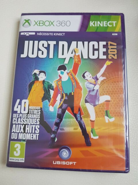 JUST DANCE 2017 KINECT JEU POUR CONSOLE XBOX 360 PAL VF ++ 100% NEUF ++ UBISOFT