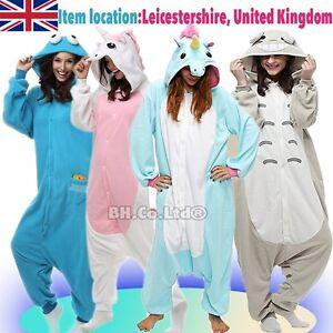 6b84d39b51 Image is loading Ones1-Kigurumi-Pyjamas-Costume-Hoodies-Animal-Adult-Unisex-