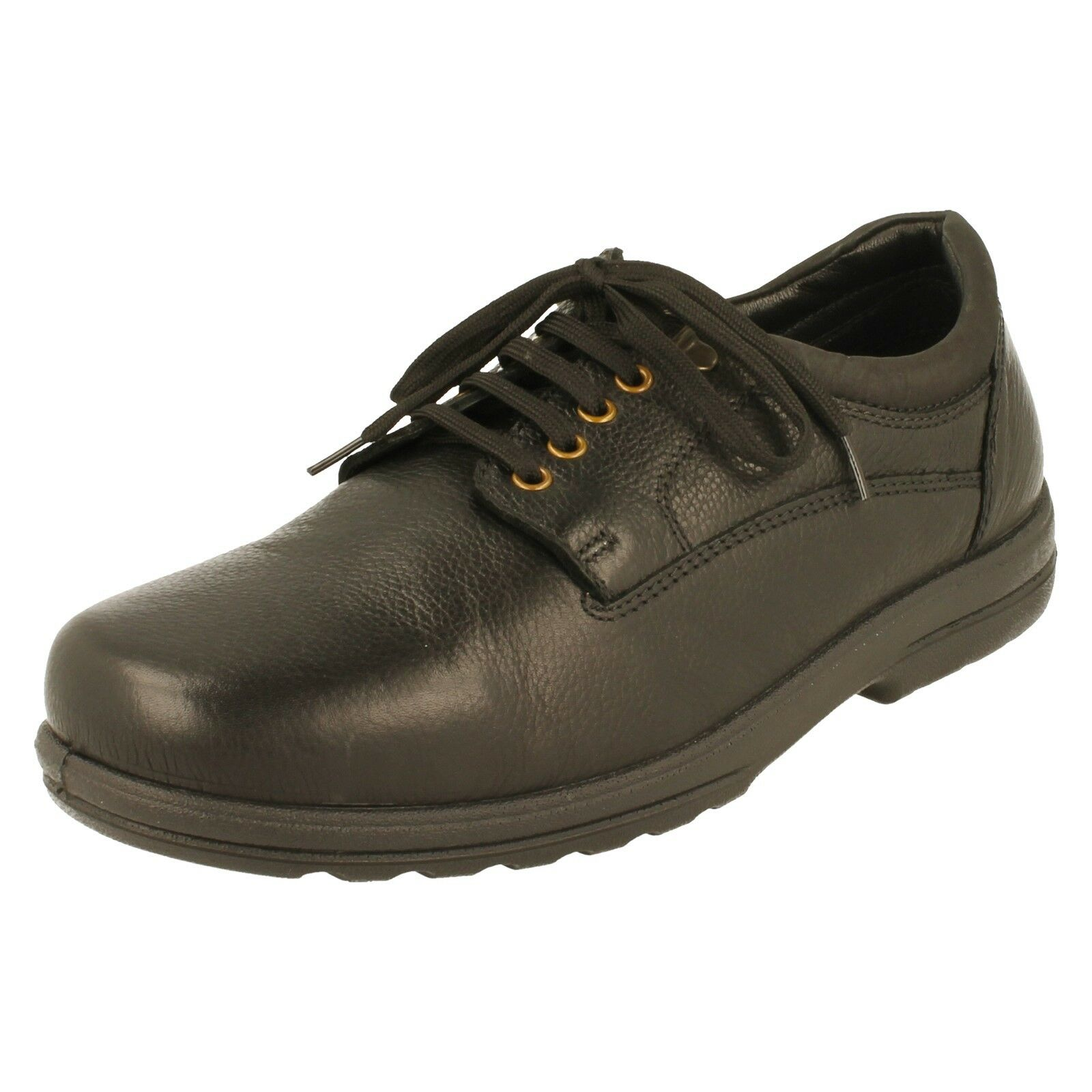 Mens Padders Dual Fit H K Leather Lace Up Casual schuhe - Declan