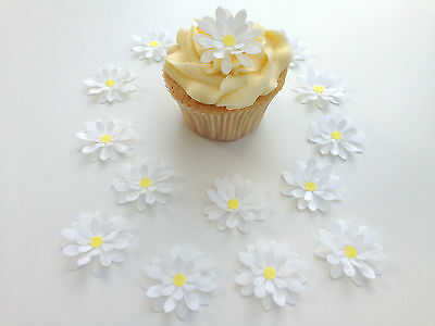 Latest Collection Of 14 Comestible Blanco 3d Flores Precortado Oblea Adornos De Cupcake Elegant In Smell Other Baking Accessories Kitchen, Dining & Bar