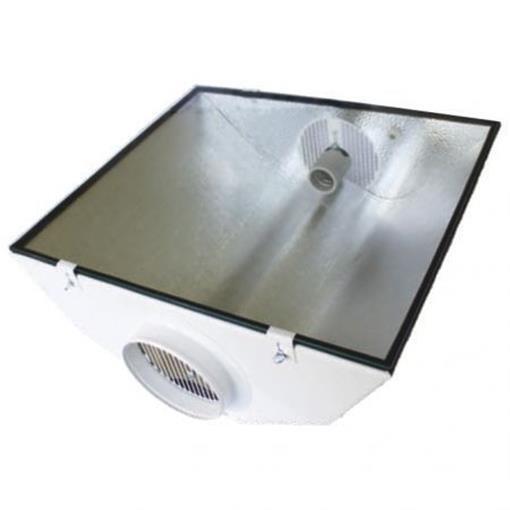 SPUDNIK Air Cooled Reflektor 125mm Grow NDL ESL Growbox Prima Klima Miro9 Stucco