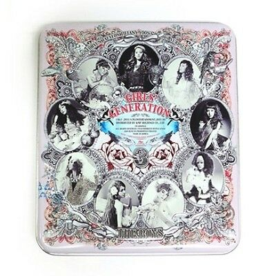 SNSD Girls' Generation 3rd Album [THE BOYS] CD in Tin + PhotoCard K-POP Sealed