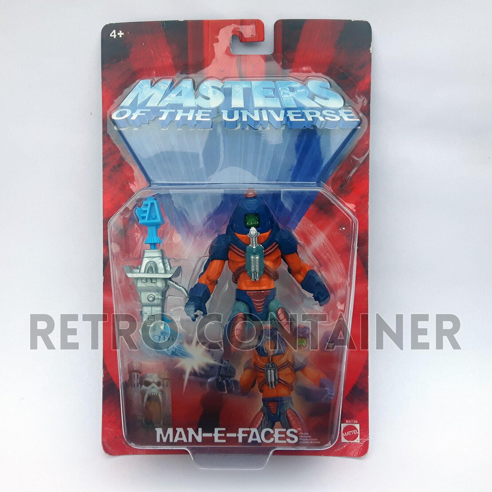 HE-uomo e THE MASTERS OF THE UNIVERSE  MOTU 200X - uomo-E-Faces MISB MOC nuovo  senza esitazione! acquista ora!