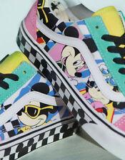 39522317da6 Free shipping. BNIB 🔥Disney x Vans Old Skool Skate Shoe 80 s Mickey Mouse  90th Checkerboard 10