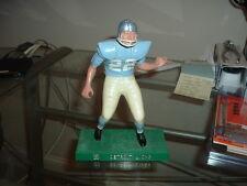 1958-1962 Hartland Plastics Football Statue Detroit Lions Lineman WITH Facemask