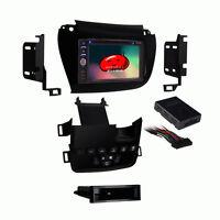 Gps Unit Navigation System Dash Kit Bluetooth 6.2 Black For 2011 Dodge Journey