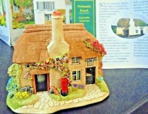 LILLIPUT-LANE-L2957-POSTMAN-039-S-KNOCK-LUCCOMBE-SOMERSET-WITH-BOX-amp-DEEDS
