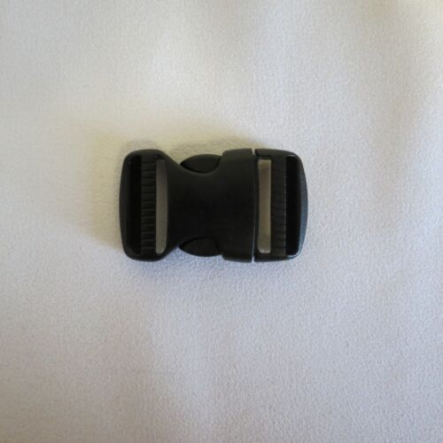 """1/"""" in Black Clip Replacement Part for OSPREY AETHER Hiking Outdoor Backpack Hike"""