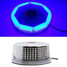 240 LED Super Blue Car Harzard Beacon Emergency Magnetic Strobe Flash Light Bar