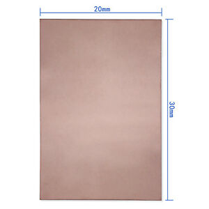300x200x1-5mm-PCB-Single-One-Side-Copper-Clad-Plate-DIY-Laminate-Circuit-Board