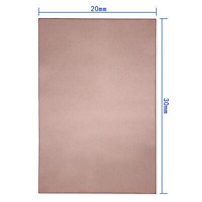 300x200x1.5mm PCB Single One Side Copper Clad Plate DIY Laminate Circuit Board