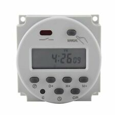 DC 12V 16A Mini LCD Power Weekly Programmable Timer CN101A