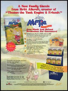Magic Adventures of MUMFIE__Original 1996 Trade print AD/ ADVERT__Britt Allcroft