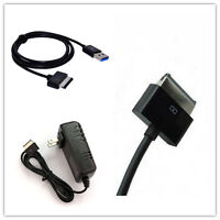 Wall Ac Charger &usb Cable For Asus Eee Transformer Tablet Tf201 Tf300t Tf700t
