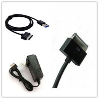 Usb Cable + Ac Charger For Asus Eee Transformer Tablet Tf101 Tf201 Tf300 Tf300t