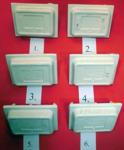 Vintage *White with black specks* Ceramic Toilet Paper holder Fairfacts Co NOS