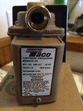 "BRAND NEW TACO 006-B4 BRONZE 3/4"" SWEAT CARTRIDGE CIRCULATOR PUMP"